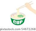 Cup udon 54672268