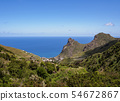 Landscape of Anaga on Tenerife Island, Canary 54672867