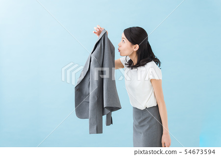 工作女性的氣味(藍背) 54673594