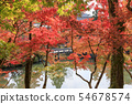 Autumn leaves of Kyoto, autumn, Eikan-do 54678574