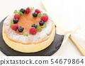 수플레 치즈 케이크 54679864