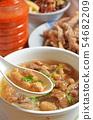 Pork thick soup 54682209