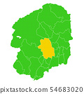 Tochigi prefecture and Utsunomiya city map 54683020