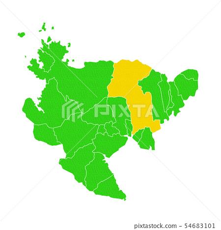 佐贺和佐贺市地图 54683101