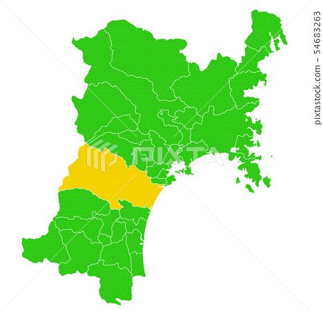 宮城縣和仙台市地圖 54683263