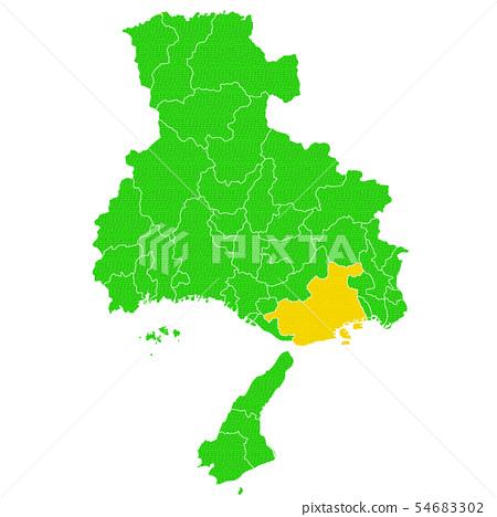 효고현과 고베시지도 54683302