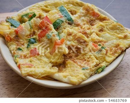아시아 음식 계란말이 54683769