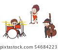 นักร้องแจ๊สเบสมือเบส 54684223