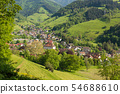 The small village Muenstertal in the Black Forest 54688610