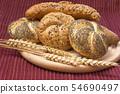 Whole wheat bread 54690497