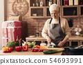 senior, woman, portrait 54693991