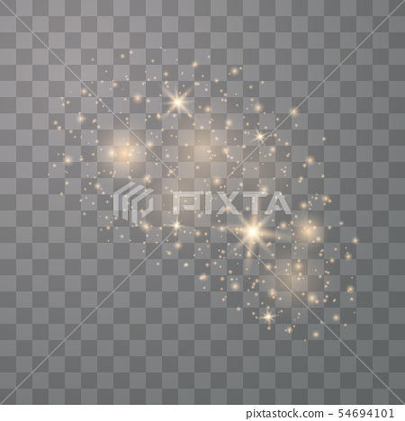 White sparks glitter special light 54694101
