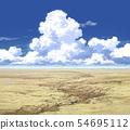 푸른 하늘과 뭉게 구름과 광야 02_09 54695112