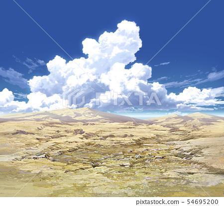 푸른 하늘과 구름과 광야 04_12 54695200