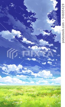 [垂直PAN]藍天,雲和草原03 13 54695429