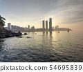 Statue of Haeundae Beach, Busan, South Korea, Asia 54695839