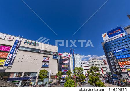 Scenery of JR Tsudanuma Station north exit 54699656
