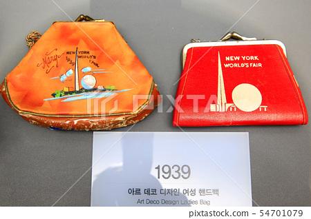세계엑스포기념품, 1939년 아르데코 디자인 여성핸드백 54701079