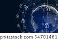 선진 5G AI 인공 지능 핀 테크 Fintech MaaS ICT 블록 체인 3D 54701461