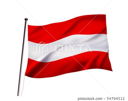 오스트리아의 국기 이미지 54704512