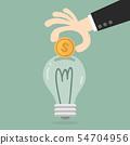 Energy Saving. 54704956