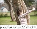 여성 공원 54705343