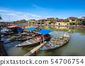 베트남 호 이안의 옛 거리 54706754