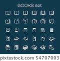 Line art books set 54707003