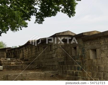 한국의 전통 건축물 성벽, 성곽 54712723