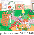 가 - 【데 닌구】 가족 색상 캠프 54715440