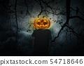 Halloween mystery concept 54718646