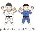 Men of judo family 54718770