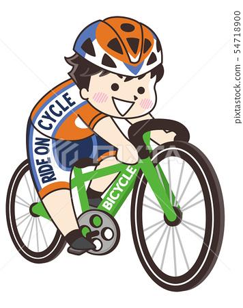자전거 경기 선수 남성 54718900