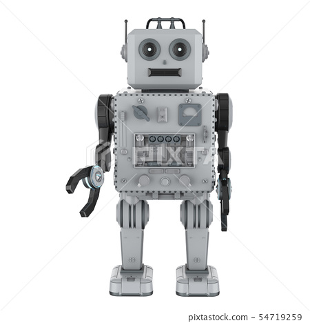 Robot tin toy 54719259