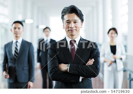 비즈니스 사무실 사업가 경력 팀 54719630
