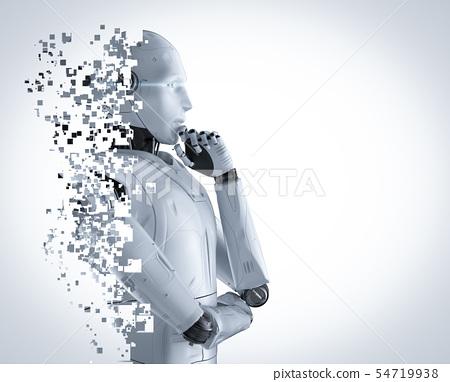 ai robot explosion 54719938