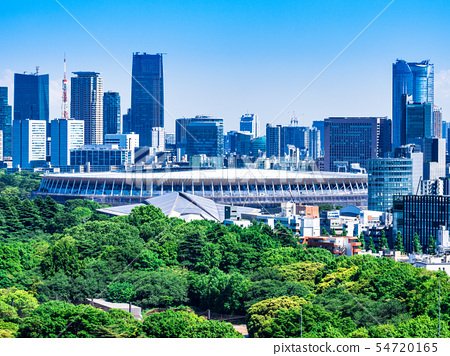 東京新國家體育場※2019年5月拍攝 54720165