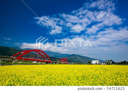 臺灣花蓮玉里火車風光Asia Taiwan Hualien scenery 54721625
