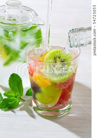 과일 사과 식초 소다 54723055