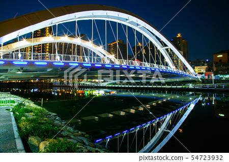 臺灣高雄愛河願景橋Asia Taiwan Kaohsiung Bridge 54723932