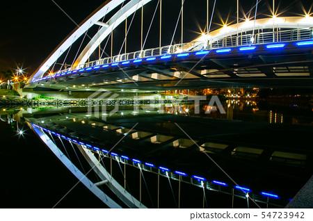 臺灣高雄愛河願景橋Asia Taiwan Kaohsiung Bridge 54723942
