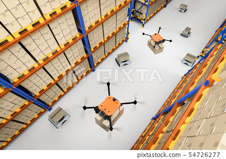 Automatic warehouse concept 54726277