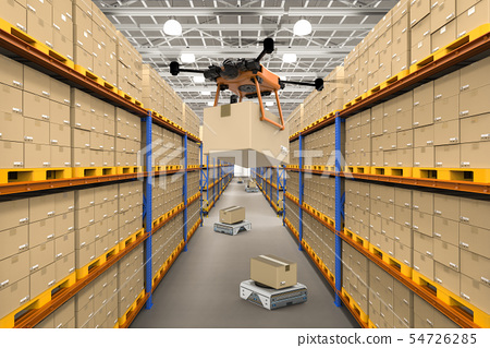 Automatic warehouse concept 54726285