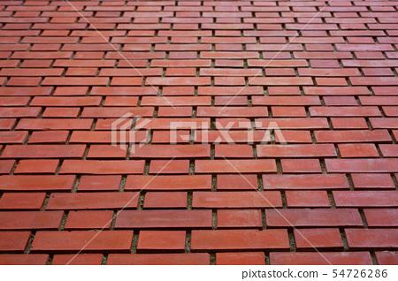 붉은 벽돌의 배경 소재 54726286