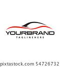 Automotive car logo design Vector 54726732