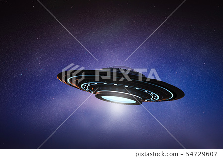 ufo in space 54729607