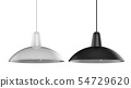 pendant lamp isolated 54729620