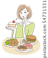 Overeating NG Women 54731331