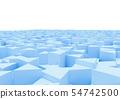 추상적 상자의 배경 54742500