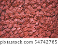 Abstract concrete red wall textures background. 54742765